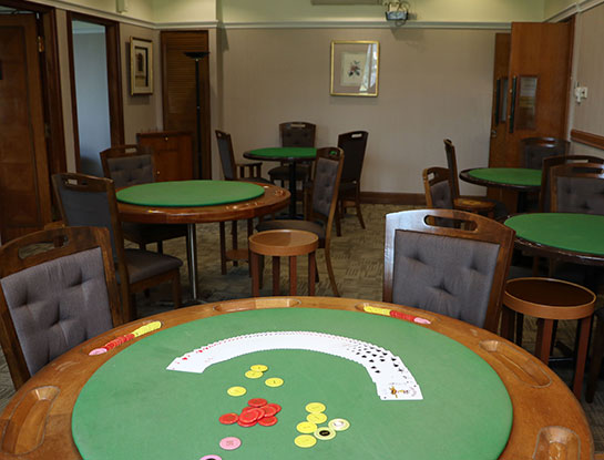 Card Room Rental